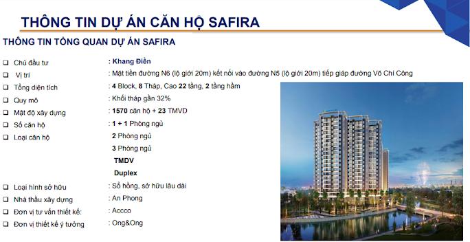 Căn hộ Safira Khang Điền