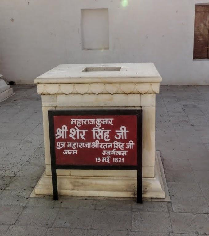 Memorial stone of child