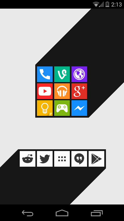 Minimal UI Go Apex Nova Theme v2.5 APK Personalization Apps Free Download
