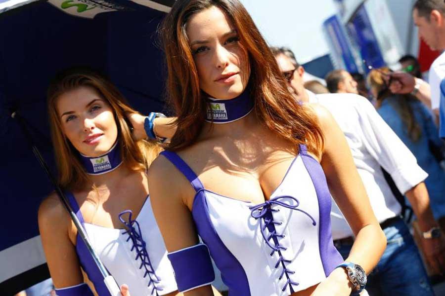 Se termino la MotoGP pero quedaron las Chicas vean las de Misano