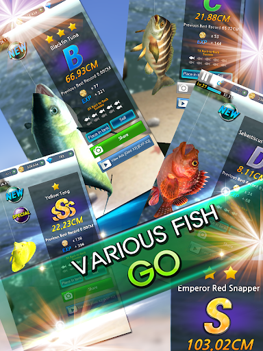 Monster Fishing 2018 Hack Cho Android