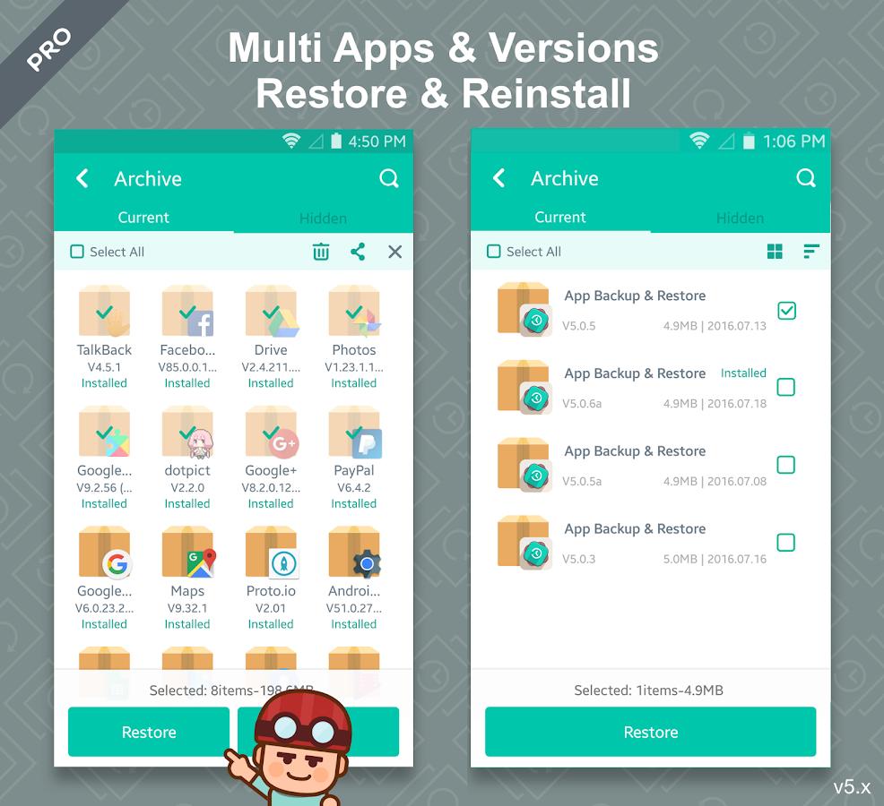 App Backup & Restore Pro Apk Free Download