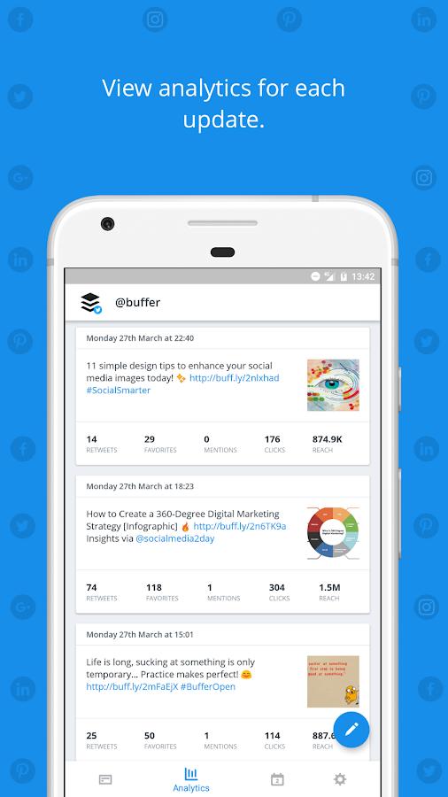 Buffer: Social Media, Twitter 6.3.0-RC5 APK Download