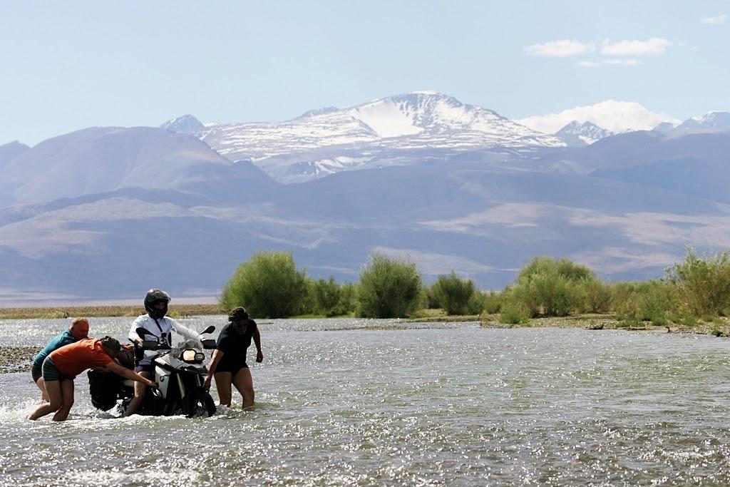wyprawa motocyklowa do Mongolii