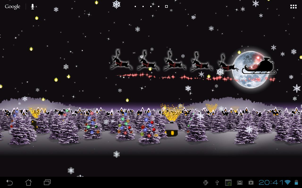 Christmas Live Wallpaper HD - v1.6.2 APK - Wallpapers And ...