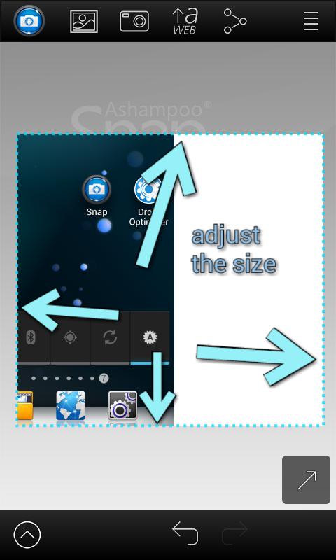 Screenshot Snap Pro v1.2.8 Apk