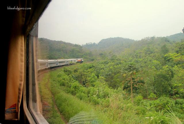 Jakarta to Bandung Train