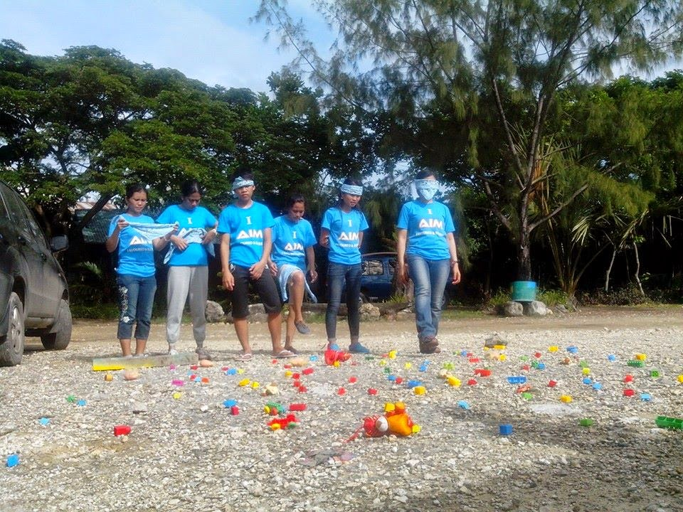 minefield team building activity