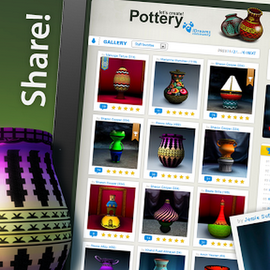 Let's Create! Pottery v1.50 Apk Game  34MB