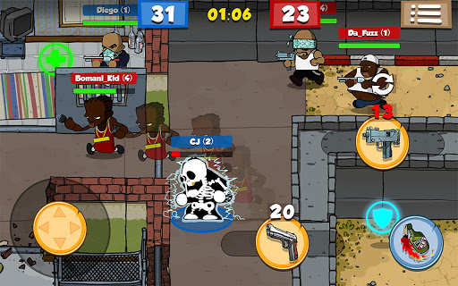 Game Bắn Súng 2D Prison Brawl Mod Cho Android