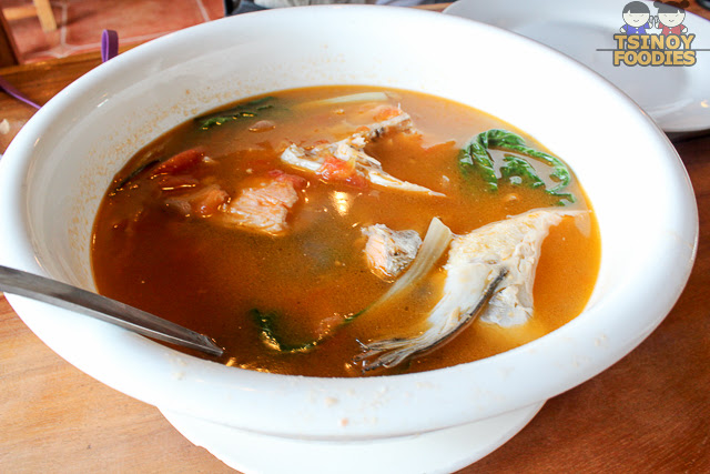 sinigang salmon head