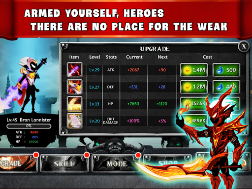 Stickman Legends - Ninja Warriors: Shadow War Hack
