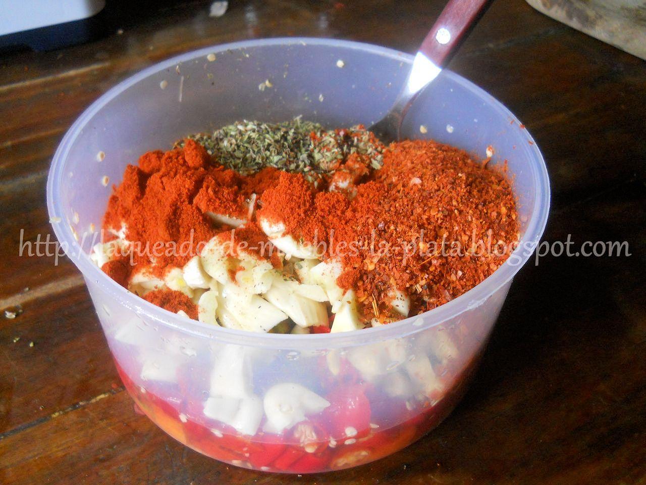 Como hacer salsa picante