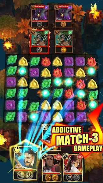 Match 3 RPG Screenshot 01