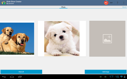 Slide Show Creator - Add Image