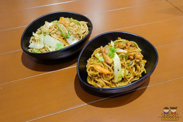 seafood and beef yakisoba