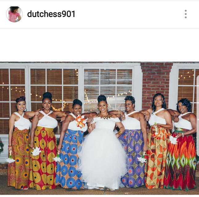 Wedding Party, Bridal Party, African Theme Party, Bride-to-be,