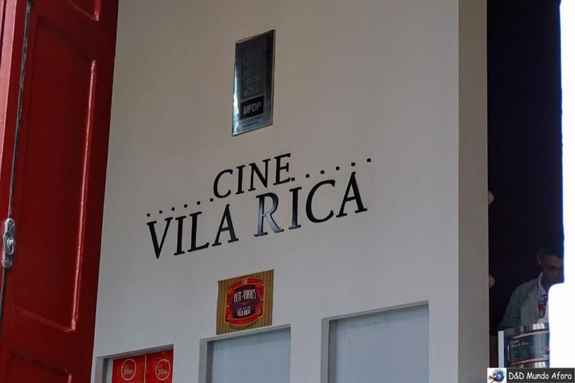 Cine Vila Rica - o que fazer em Ouro Preto