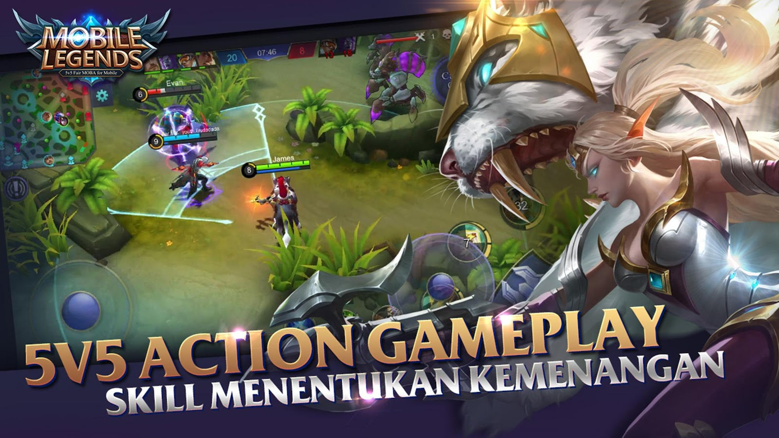 Download Mobile Legends: Bang Bang apk update terbaru