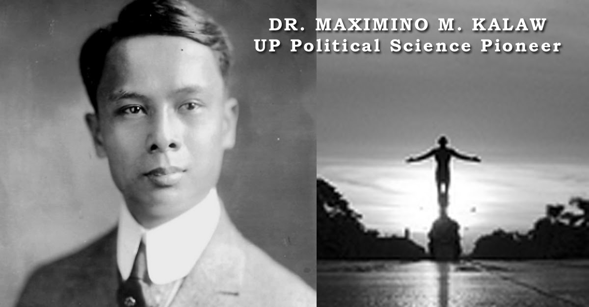 Image credits:  Dr. Maximo M. Kalaw from the Presidential Museum and Library PH on Flicker.  Oblation picture by: Cmlagman, CC BY 2.5, https://commons.wikimedia.org/w/index.php?curid=24598858.