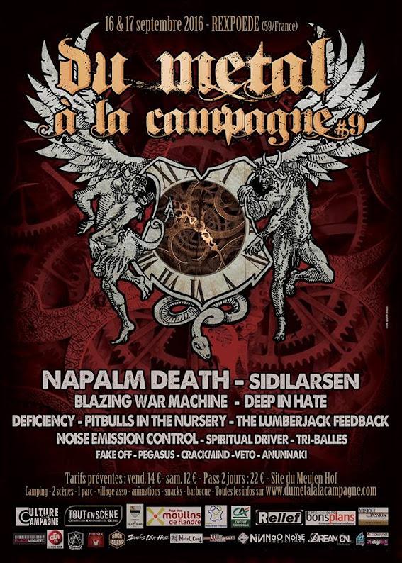 Du Metal A La Campagne#9, Rexpoëde 16 & 17/09/2016