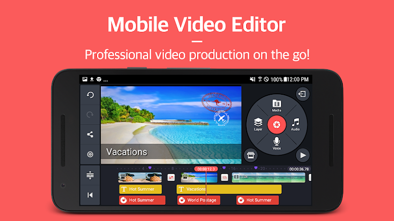 kinemaster video editor unlocked terbaru