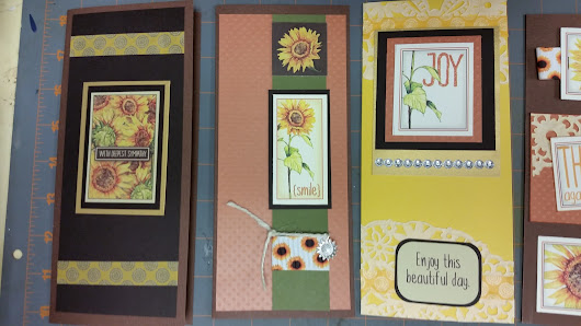 Fun cards with Sunflower Greetings to Go