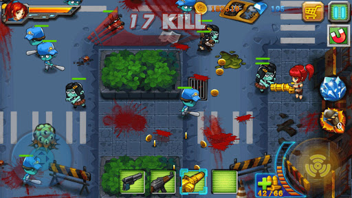 Zombies Attack Anh hùng Vs Zombies Hack Cho Android