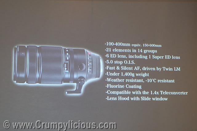 FUJINON XF100-40Pmm F4.5-5.6 R LM OIS WR