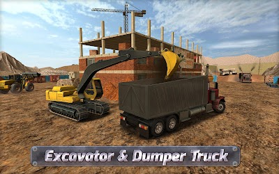 game truck simulator construction terbaik android