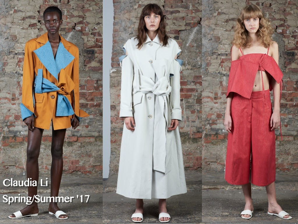 Inspection Report: Claudia Li Spring/Summer '17 Presentation