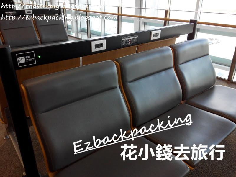 福岡機場候機室沙發