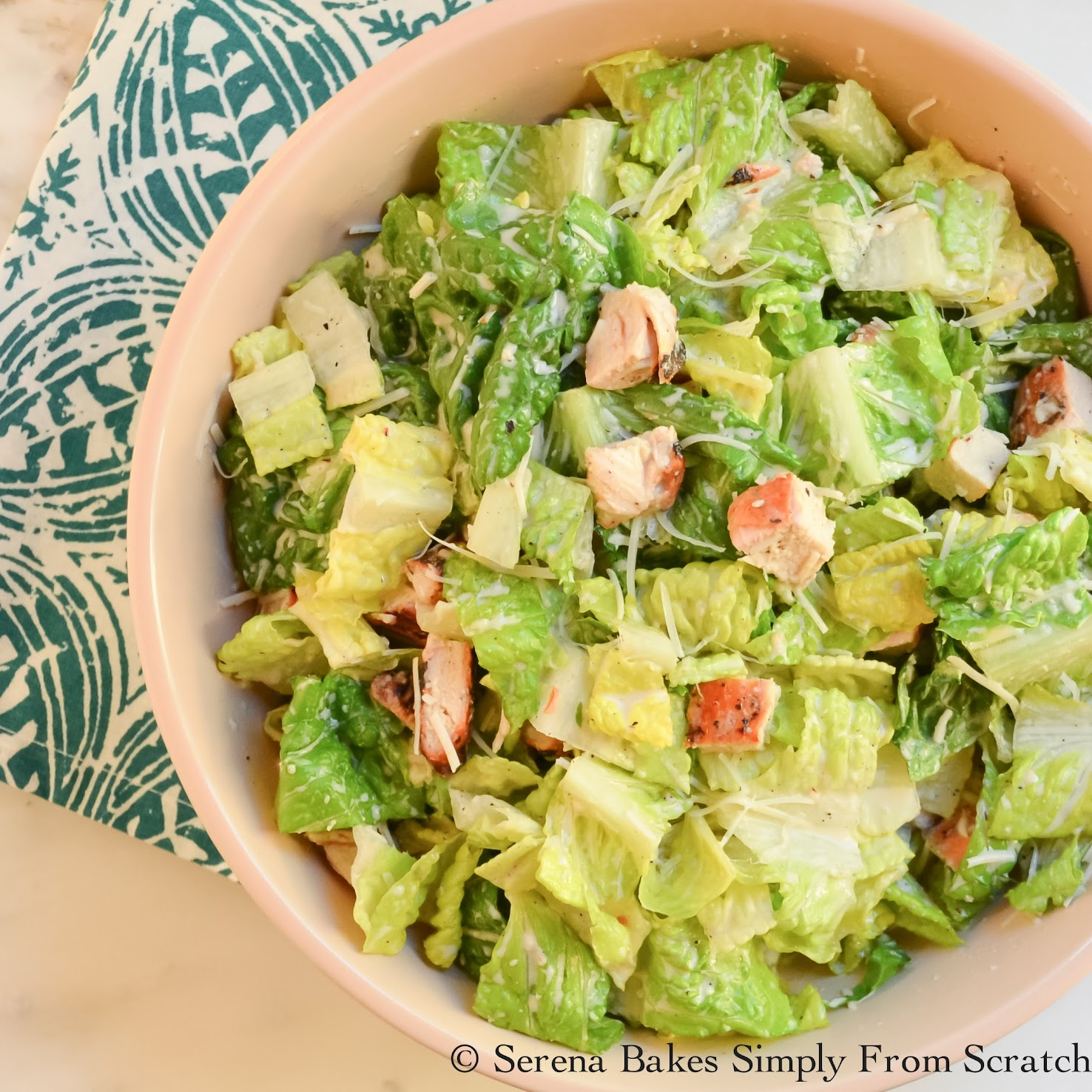 Healthier Caesar Salad Dressing is easy to make and tastier then store bought!
