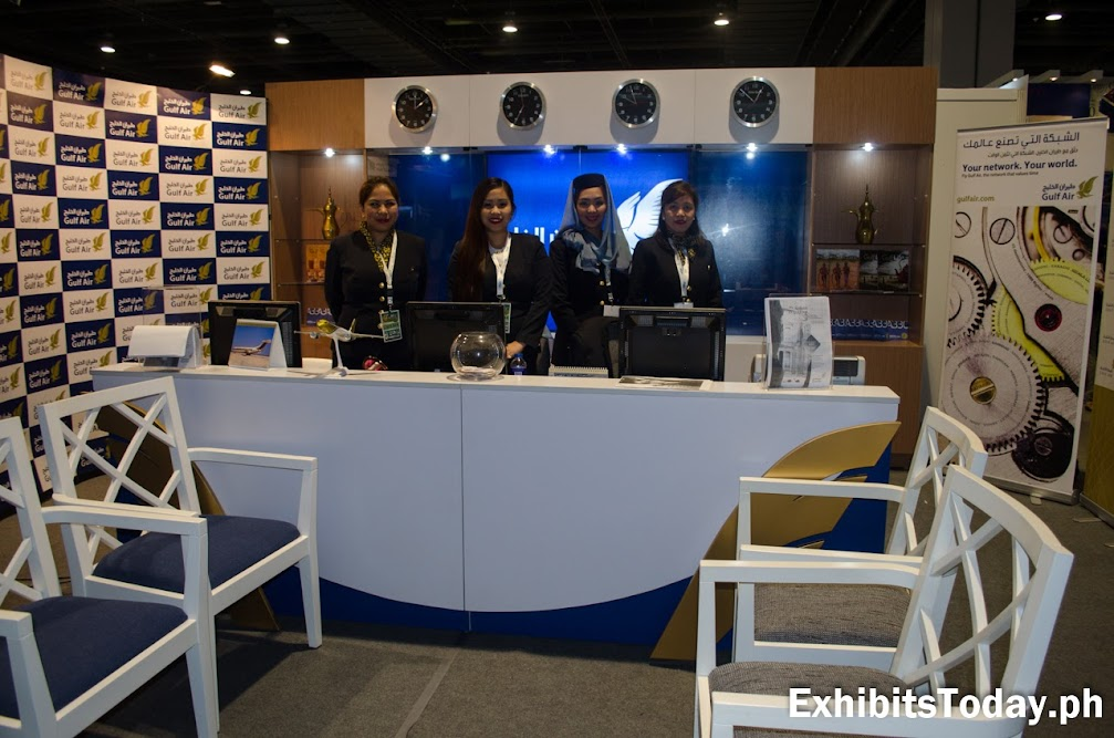 Gulf Air Exhibit Booth