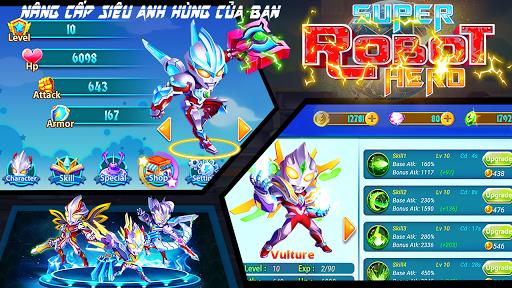 Tải Game Siêu Nhân Robot - Superhero Robot Hack