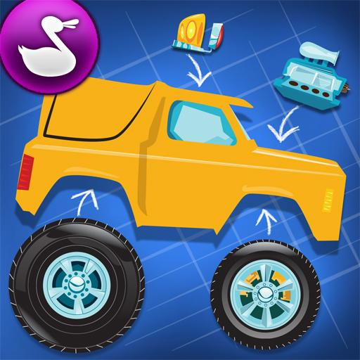 Build A Truck Duck Duck Moose 1.2 Apk Mod Money for Android ~ Android Hack