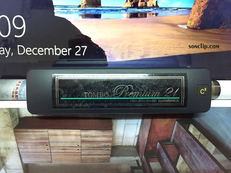 Kèn Harmonica - Tombo Band 21 Premium (Key C#)