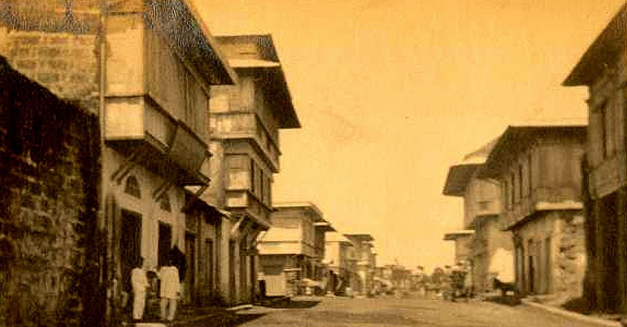 Lipa early during the American colonial era.  Image source: The Luther Parker Collection.