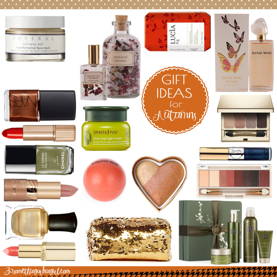 Beauty gift ideas for Autumn seasonal color women under 50USD