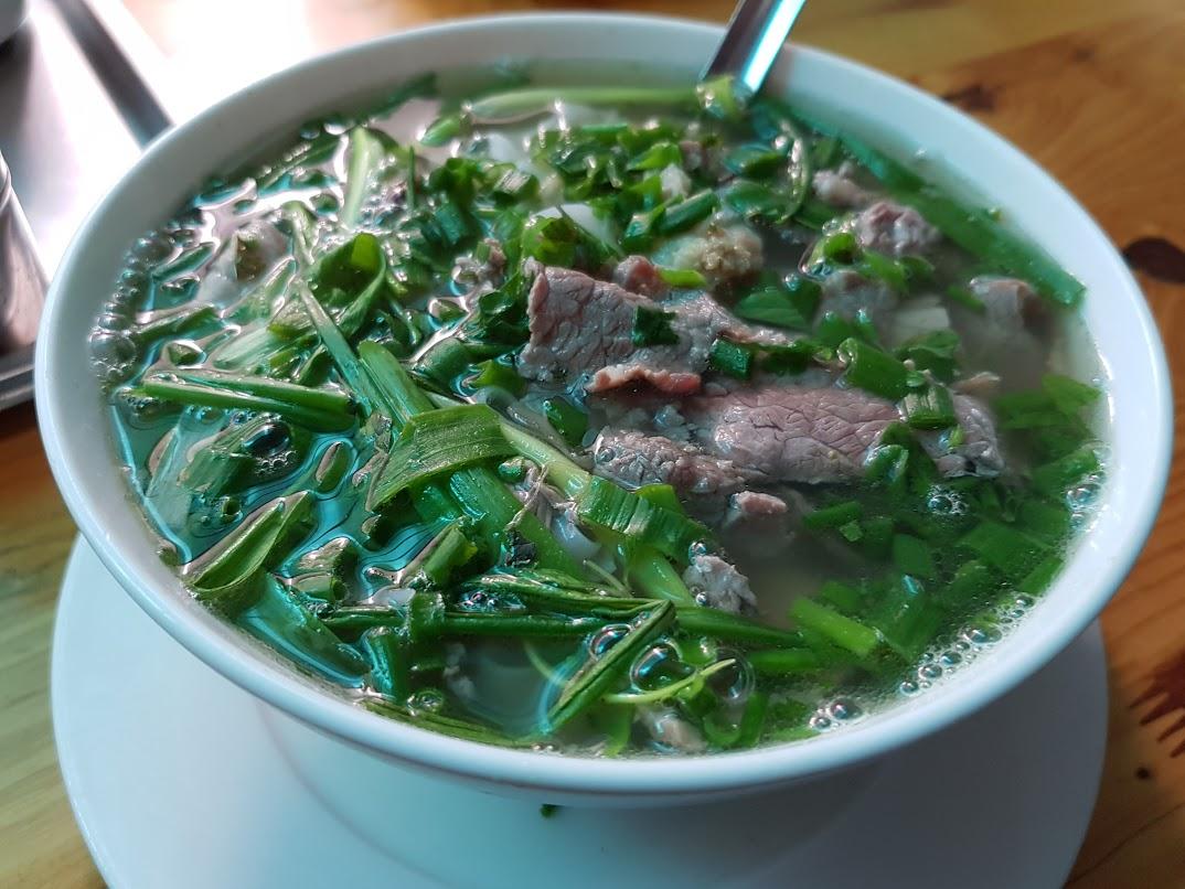 Vietnamese beef noodle, pho