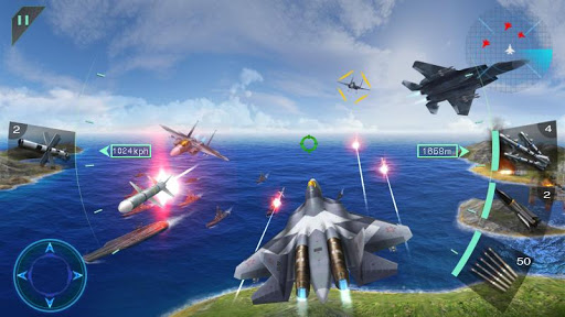 Sky Fighters 3D Hack Full Tiền Vàng Cho Android