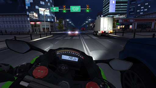Game Traffic Rider Mod Full
