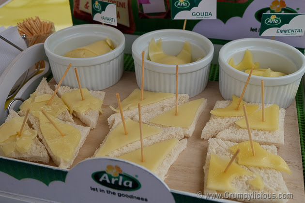 arla natural cheese slices