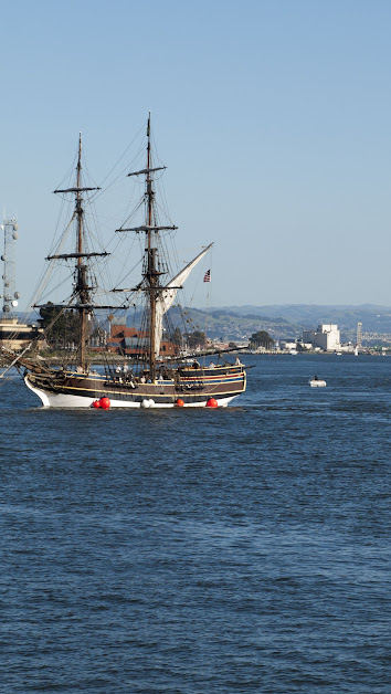Pirate ship on the San Francisco Bay