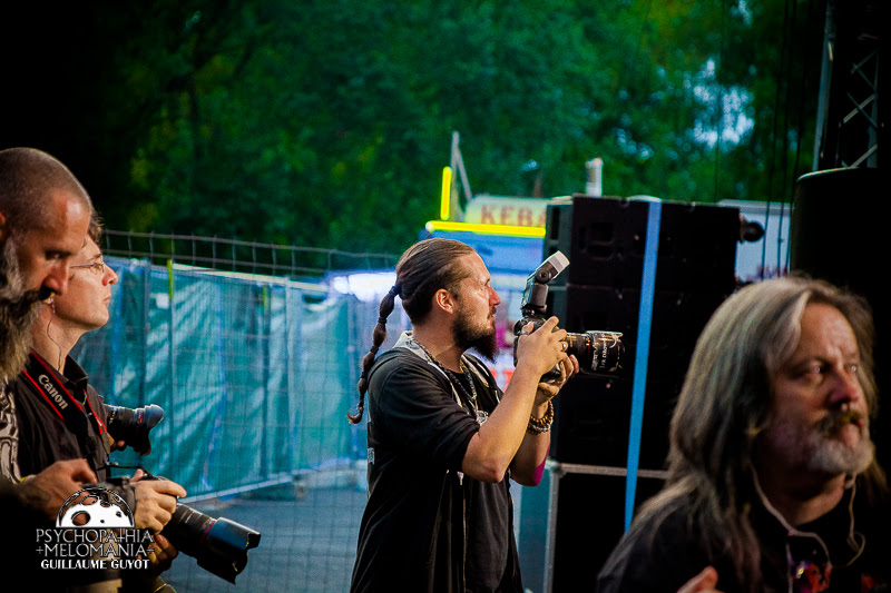 Photographers during Myrath @Raismes Fest 18, 10/09/2016
