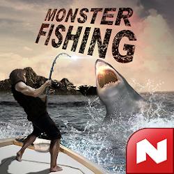 Download Monster Fishing 2019 v0.1.45 MOD APK Many Diamonds
