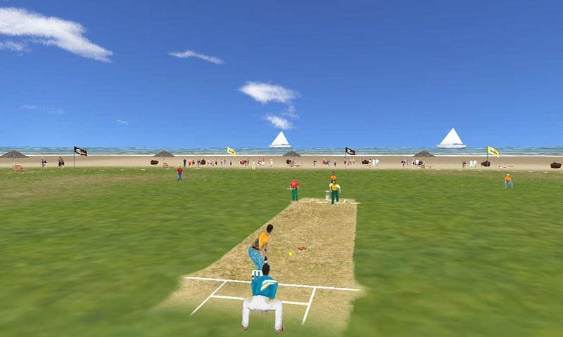 Beach Cricket Pro v2.5.1 APK Sports Games Free Download