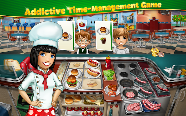 Cooking Fever v1.2.0 [Unlimited Coins/Gems]