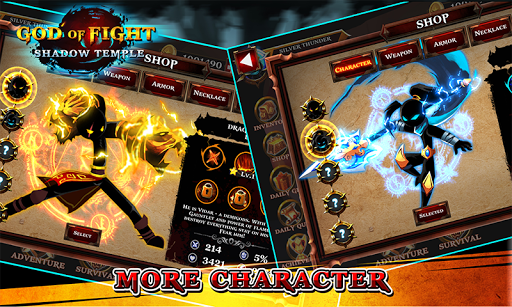 Shadow Temple God Of Fight Mod Full