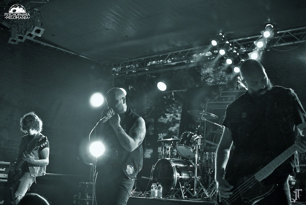 Caronte @Under The Black Sun XVIII, Helenenauer, Allemagne 03/07/2015